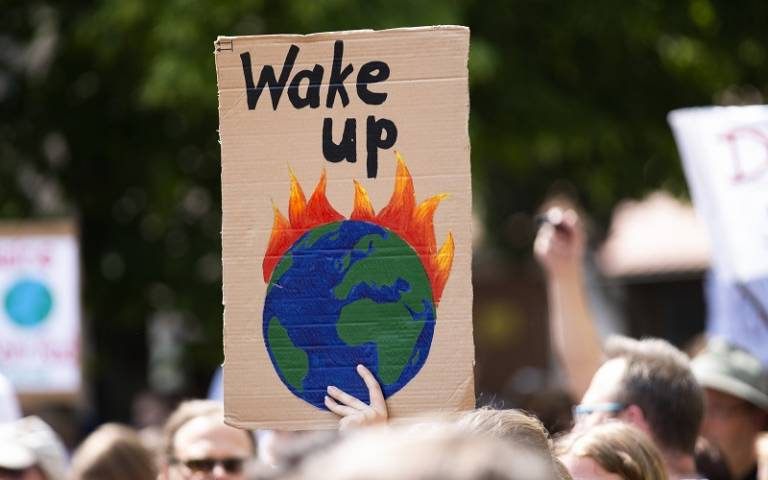 Fridays for Future Protest in Germany