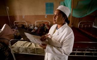 A hospital in Madagascar