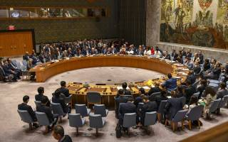 Meeting with Members of the UN Security Council in New York City