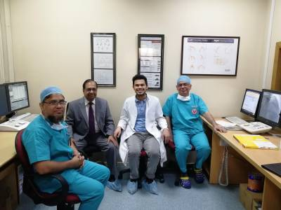 UCL Global Health student visits research partners in Bangladesh