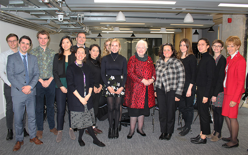 Lieutenant Governor of Ontario visits UCL