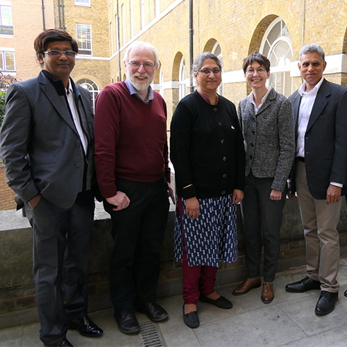 IIAP delegation at UCL
