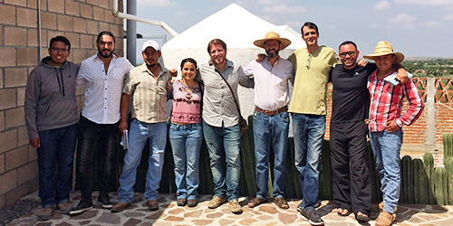 Dr Ilan Adler in Mexico on a GEF-supported project