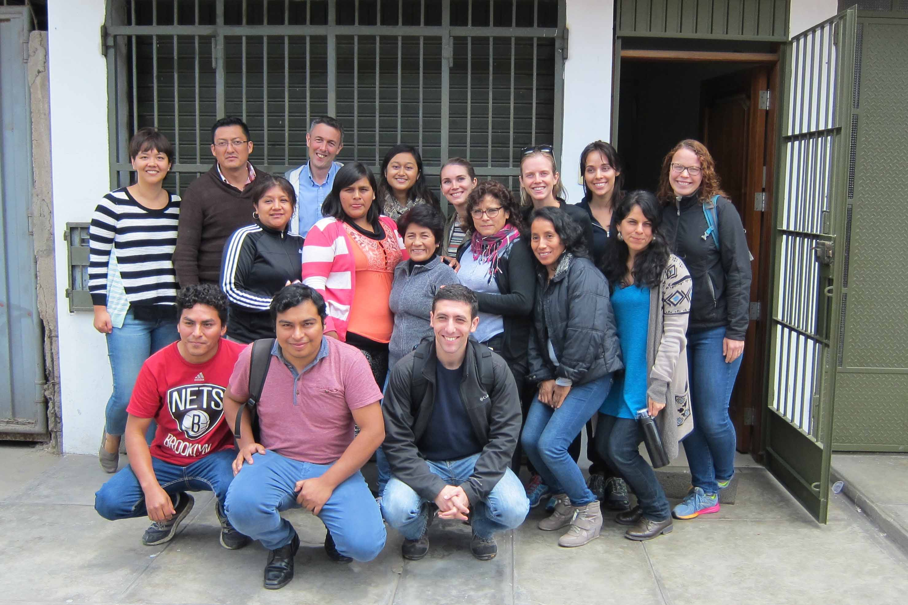 Johns Hopkins + UCL in Peru - ABPRISMA team - Latin America