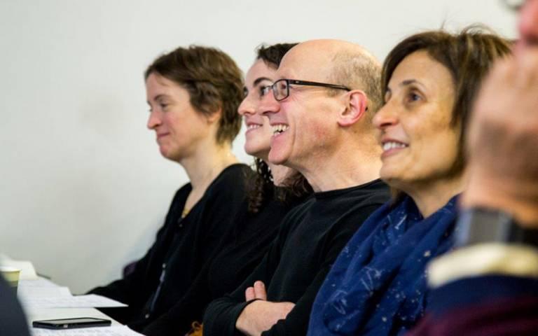 Audience members at AHRI Symposium