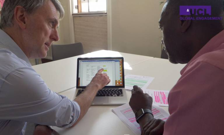 Colin Marx visit to Uganda