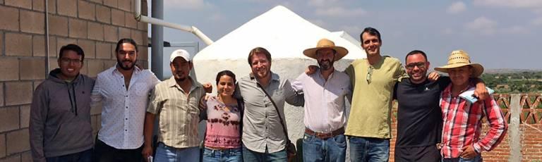 Prof Ian Adler in Mexico