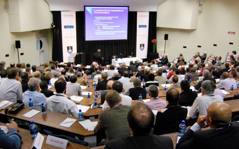 Delegates attending the At The Limits conference…