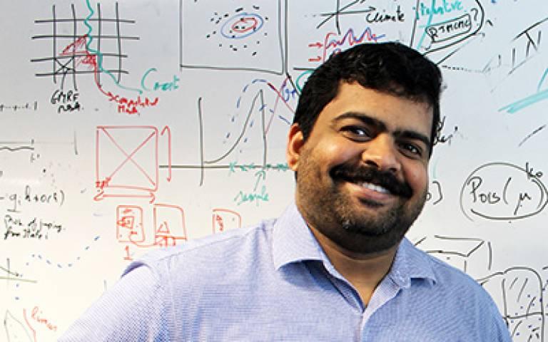 Newton International Fellow Devaraj Gopinathan