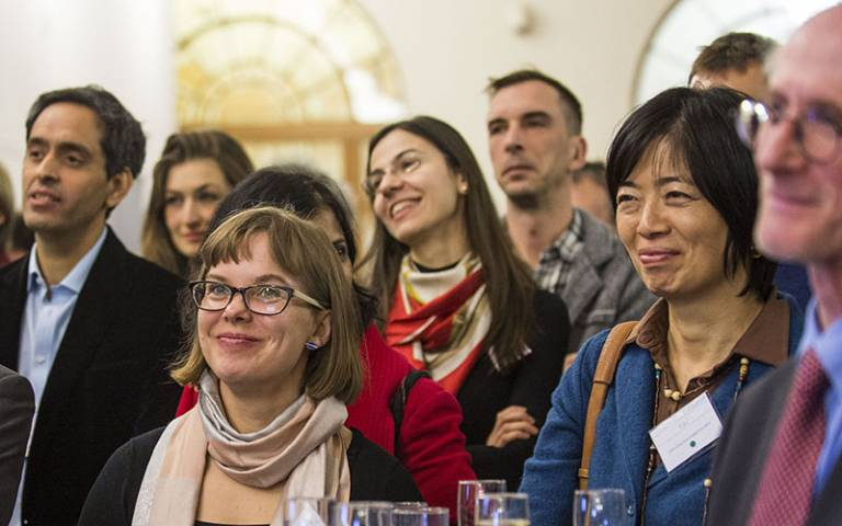 Guests at the 2016 UCL Global Engagement Funds Celebration Event
