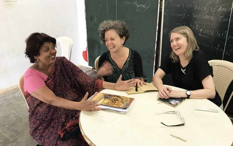 IOE's Rebecca Wilson on a visit to Bengaluru