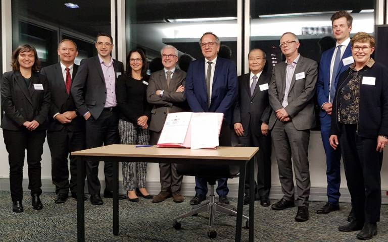 Eight global university networks signed the Sorbonne Declaration
