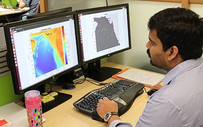 Newton International Fellow Devaraj Gopinathan is researching the tsunami life cycle…