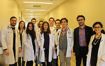 Dr Angelos Kassianos (UCL Department of Applied Health Research) at the Koc University School of Medicine in Turkey…