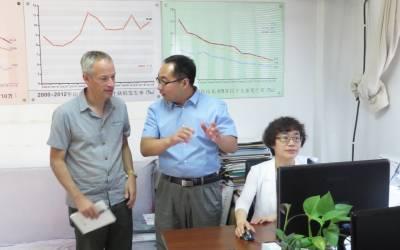 Prof Nick Greene visit to Shangdong province, China