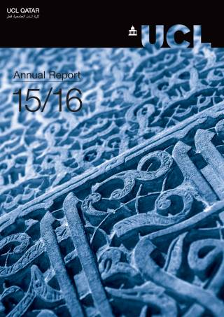UCL Qatar Annual Report 15\16
