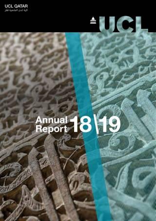 UCL Qatar Annual Report 18\19