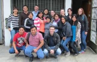 Dr John Hurst in Peru