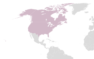 Map of North America…