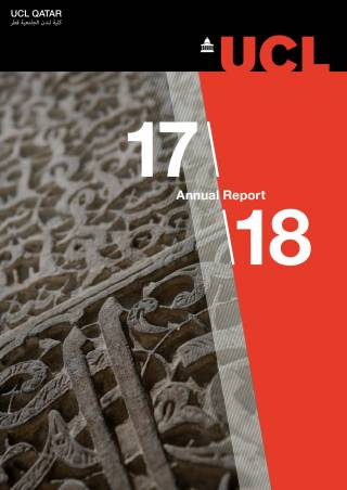 UCL Qatar Annual Report 17\18