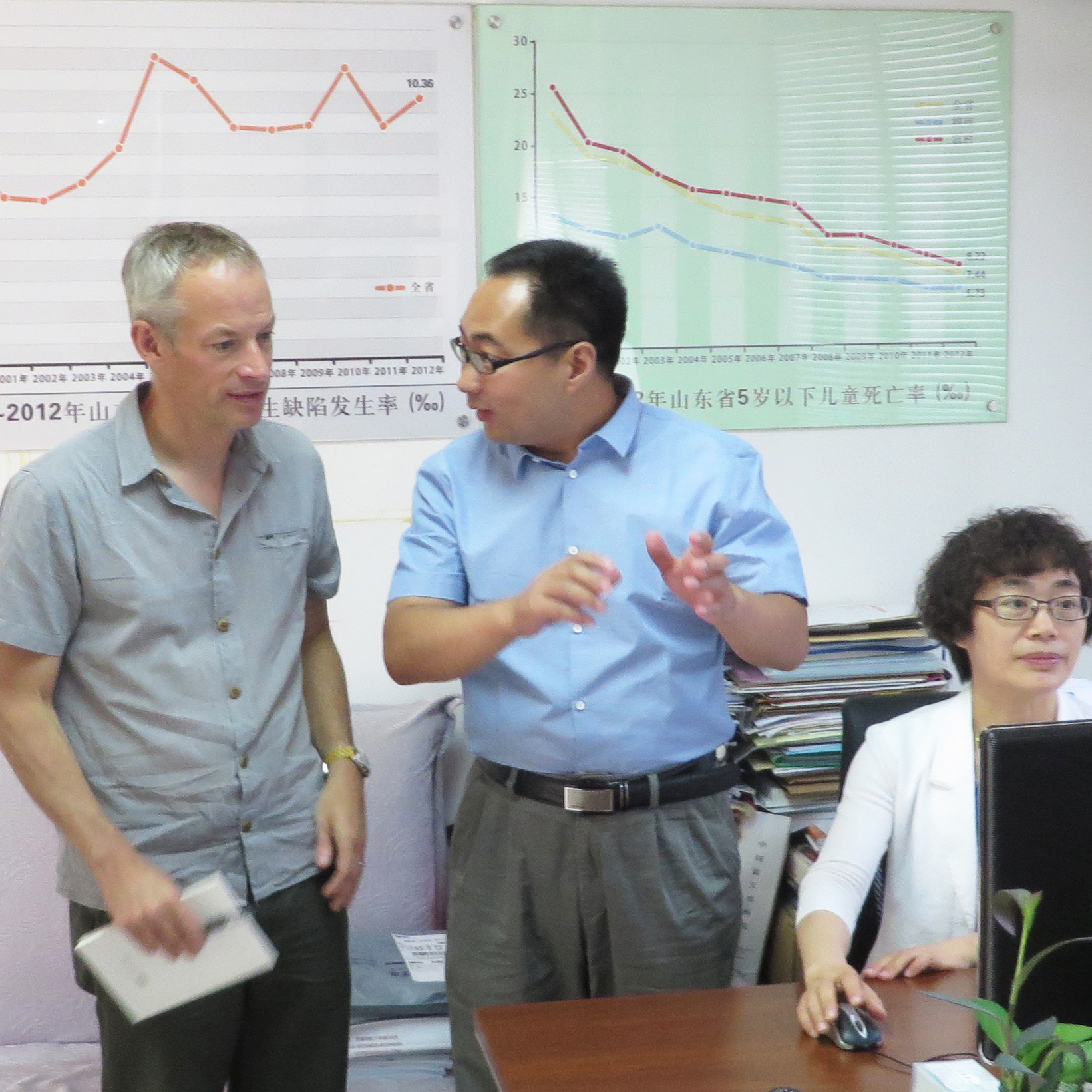 Prof Nick Greene in PKU