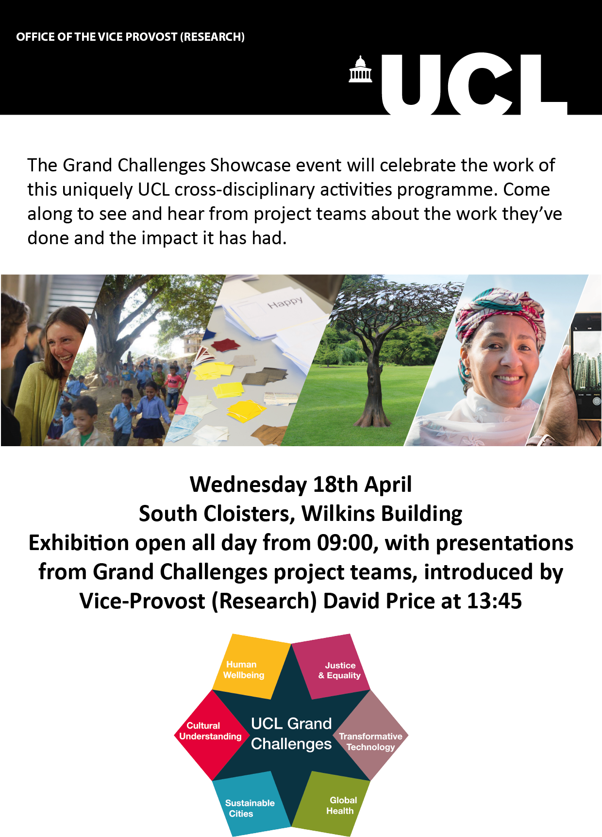 Grand Challenges Showcase 2018 poster
