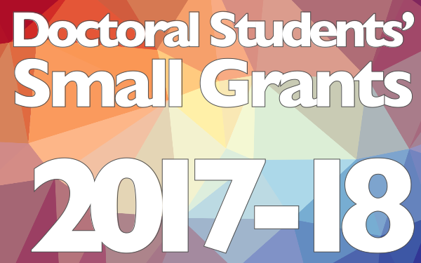 Doctoral Small Grants 2017