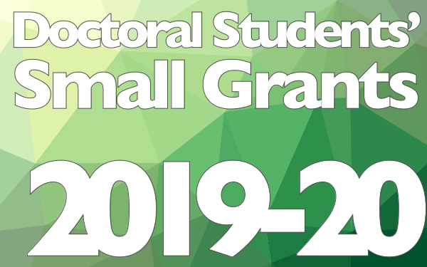 Doctoral Small Grants 2019