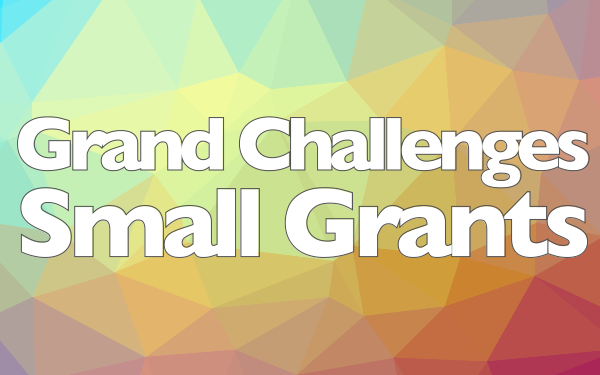 Grand Challenges Small Grants