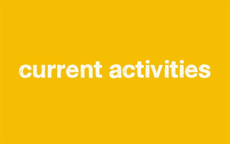 current activities GCHW