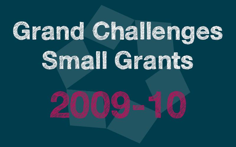 Small Grants 2009-10