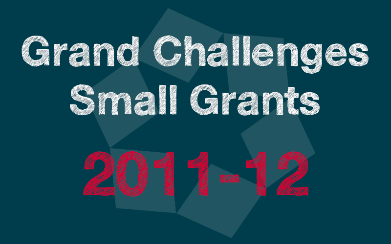 Small Grants 2011-12