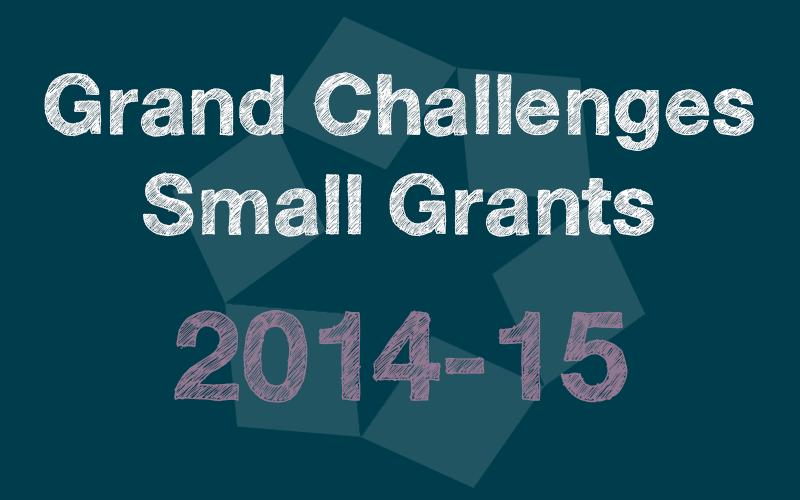 Small Grants 2014-15
