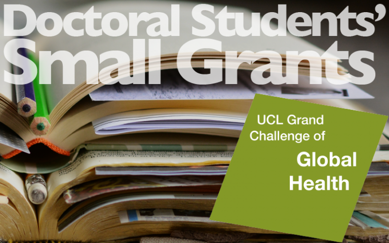 Doctoral Students' Small Grant Grand Challenge of Global Health