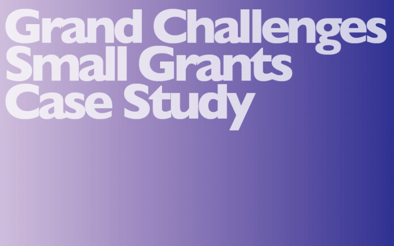 GC Small Grants Placeholder Image