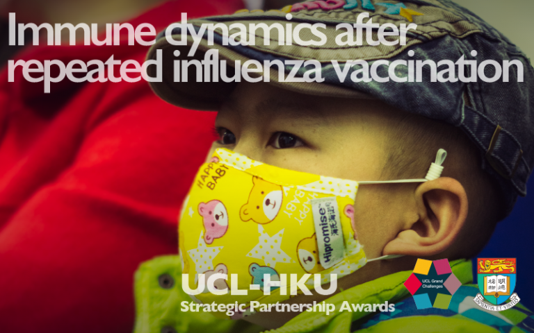 "UCL-HKU Immune Dynamics Flu - ""Colorful Childhood"" by Momentchensammler is licensed under CC BY 2.0"
