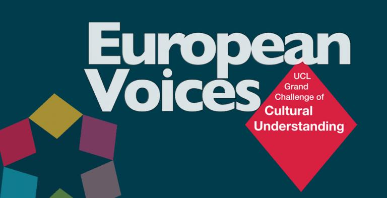 European Voices logo