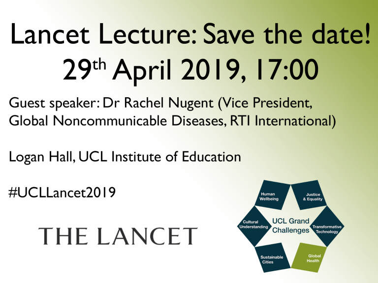 2019 Lancet Lecture: NCDs as a global emergency | UCL Grand
