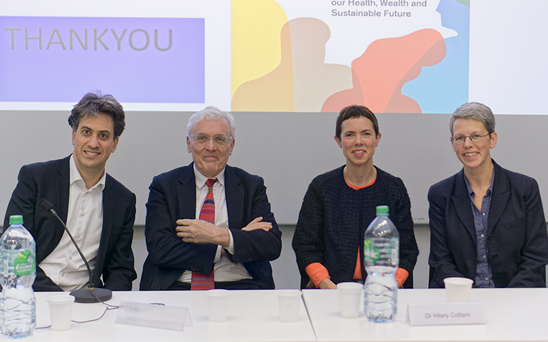 Take Back Control Panel - Ed Miliband, Anthony Costello, Hilary Cottam and Helen Killaspy