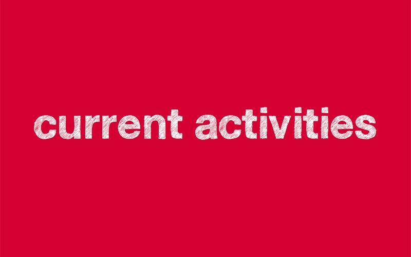 current activities GCCU