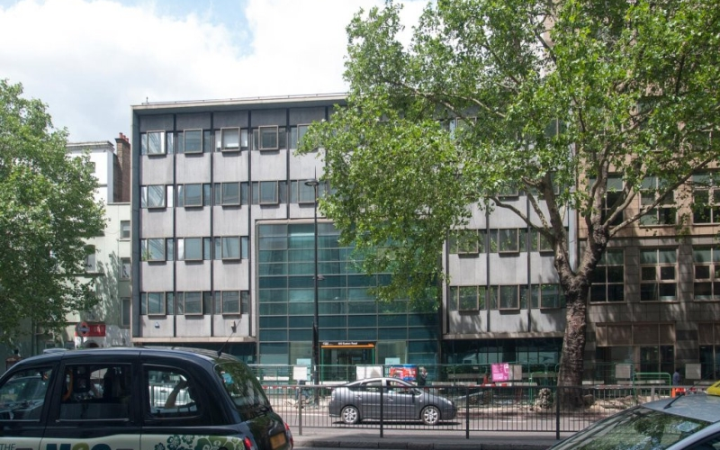 A picture of the 222 Euston Road building