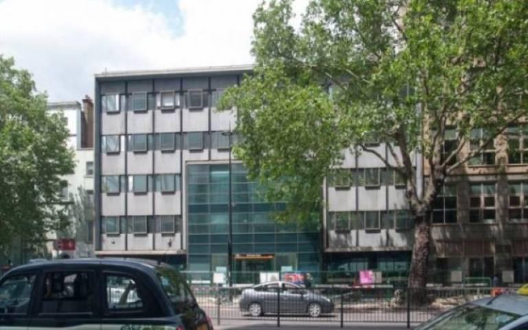 Photo of 222 Euston Road Building houses the Institute of Health Informatics IHI
