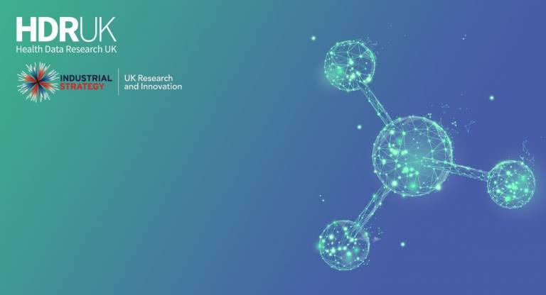HDRUK green blue molecule