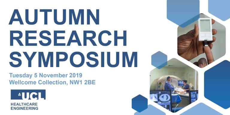 Autumn Research Symposium 2019, 5 November, Wellcome Collection