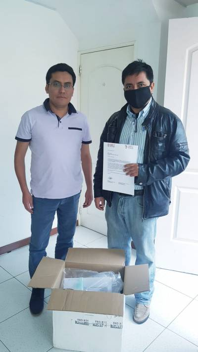 Delivery of CPAP device to EPN