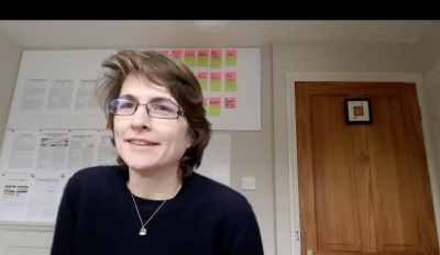 Screenshot of Cathy Holloway