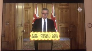 Gove in briefing