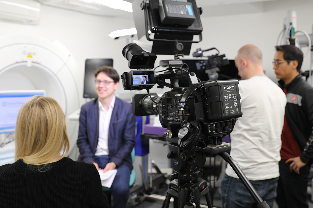 Media engagement | Filming at WEISS