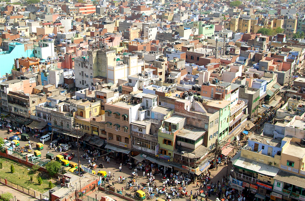 Global collaborations | Street in Delhi, India