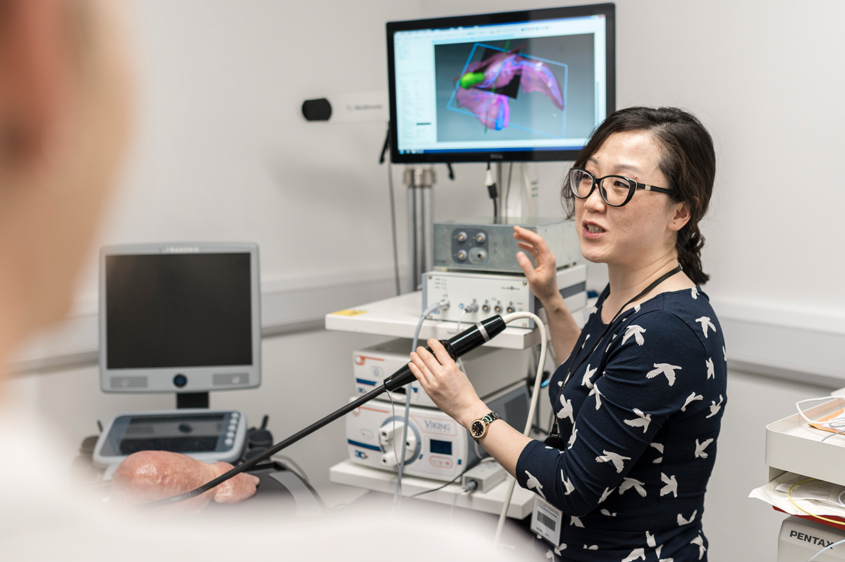 Research excellence | Guofang Xiao with SmartLiver system